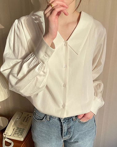 aileen blouse (one day 5% off)